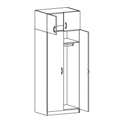 Шкафы (шкафы+антрессоли)